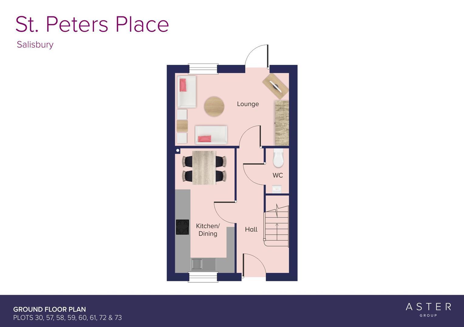 St. Peters Place, Salisbury_Plots 30, 57, 58, 59,